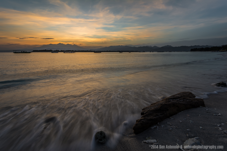 Mt Rinjani Sunrise, Gili Trawangan, Indionesia