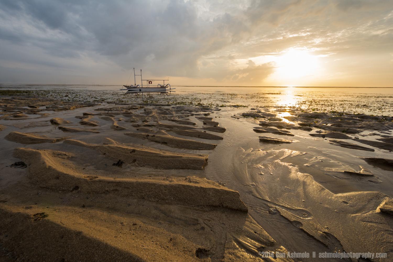 Sand Ripples, Sanur, Bali, Indonesia