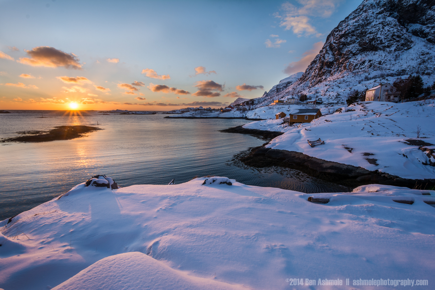 Fresh Snow, Lofoten Islands, Norway