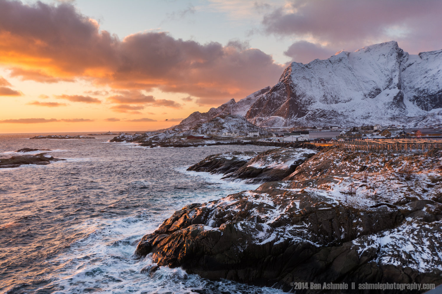 Arctic Coast, Lofoten Islands, Norway