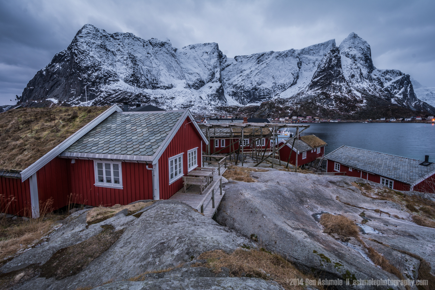 Fisherman's Cabins, Reine, Lofoten Islands, Norway