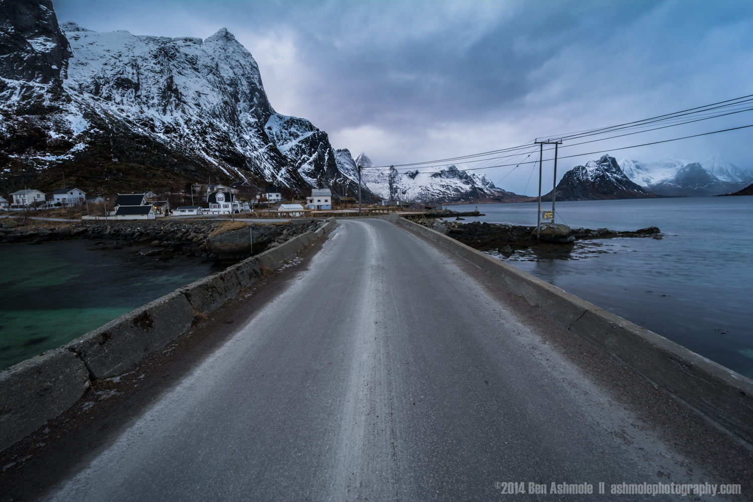 E-10 Highway, Moskenes, Lofoten Islands, Norway