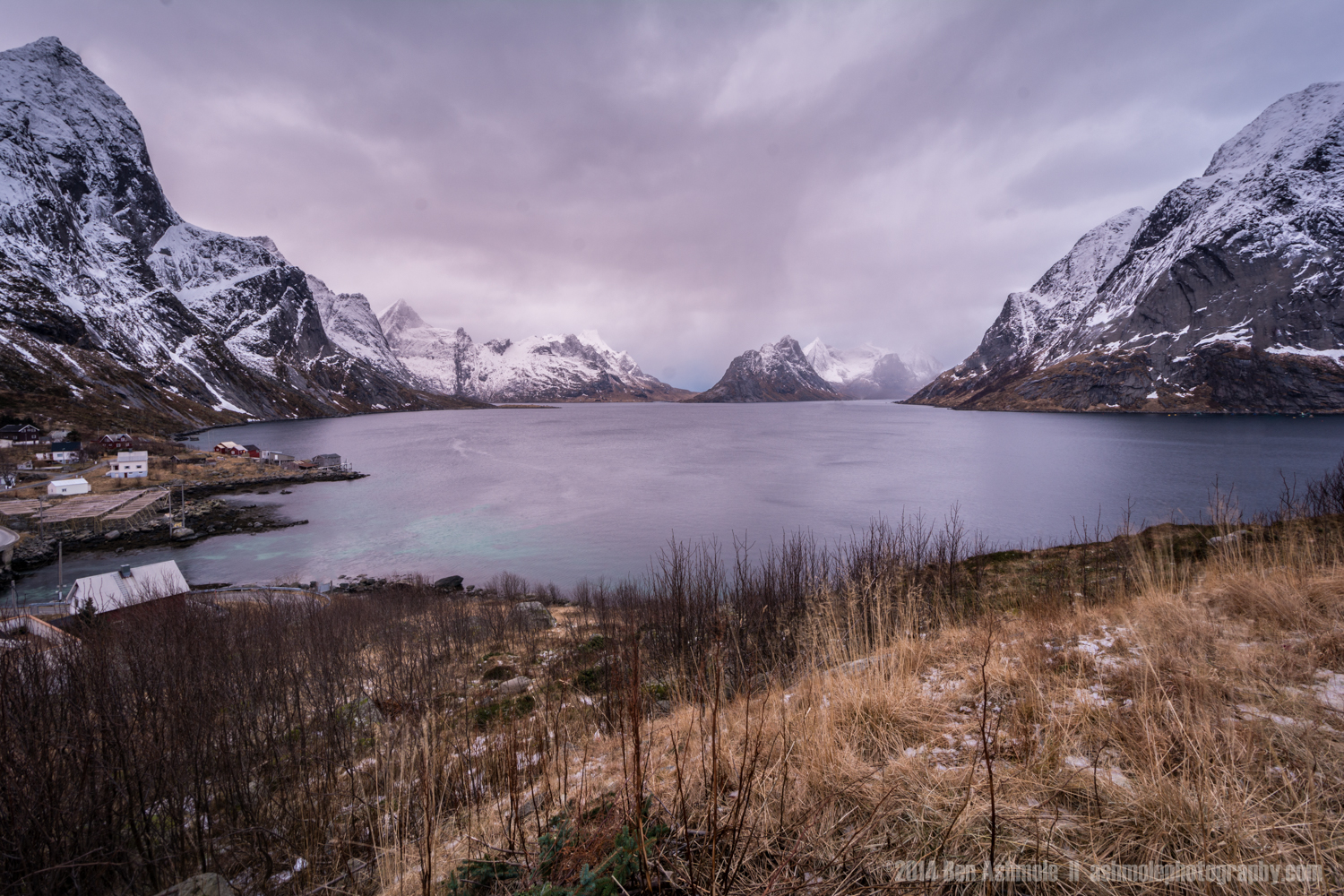 Across The Fjord, Reine, Lofoten Islands, Norway