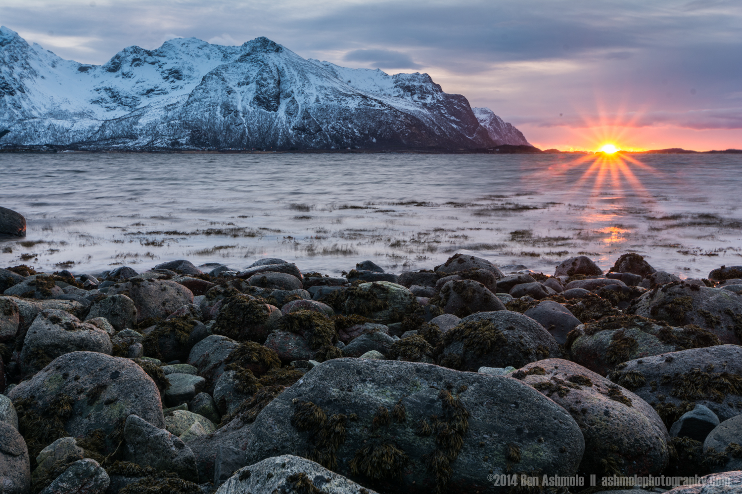 Arctic Sunset, Lofoten Islands, Norway