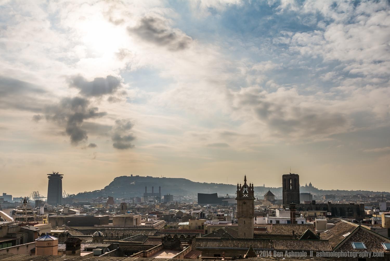 Across The City, Barcelona, Spain