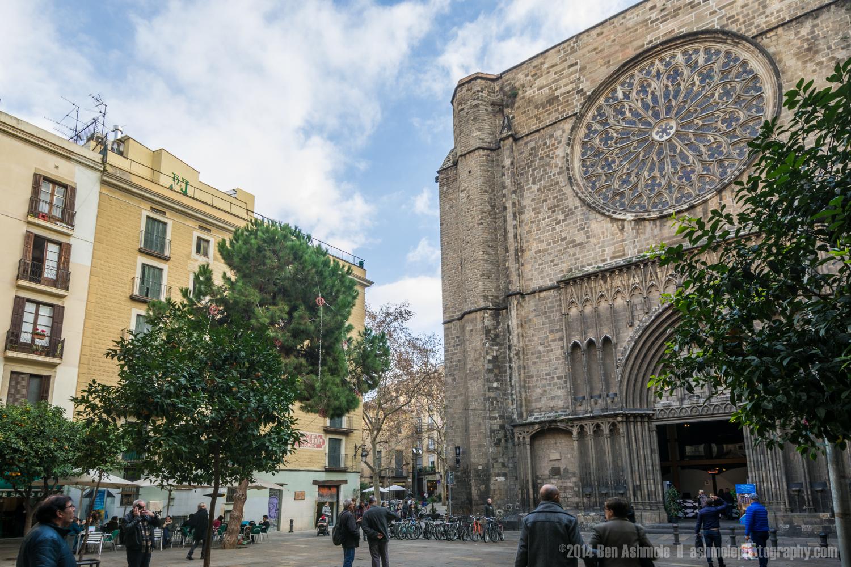 Plaça de Sant Josep Oriol, Barcelona, Spain