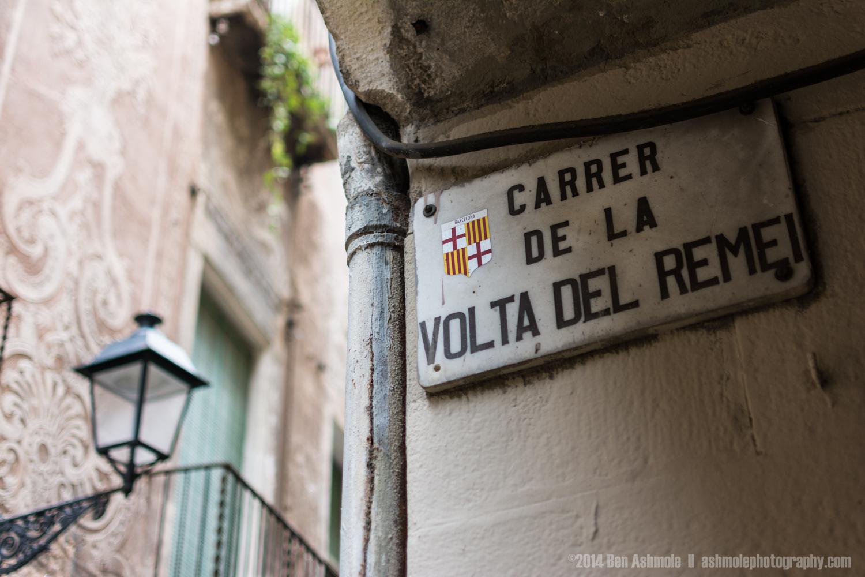 Carrer De La Volta Del Remei, Barcelona, Spain