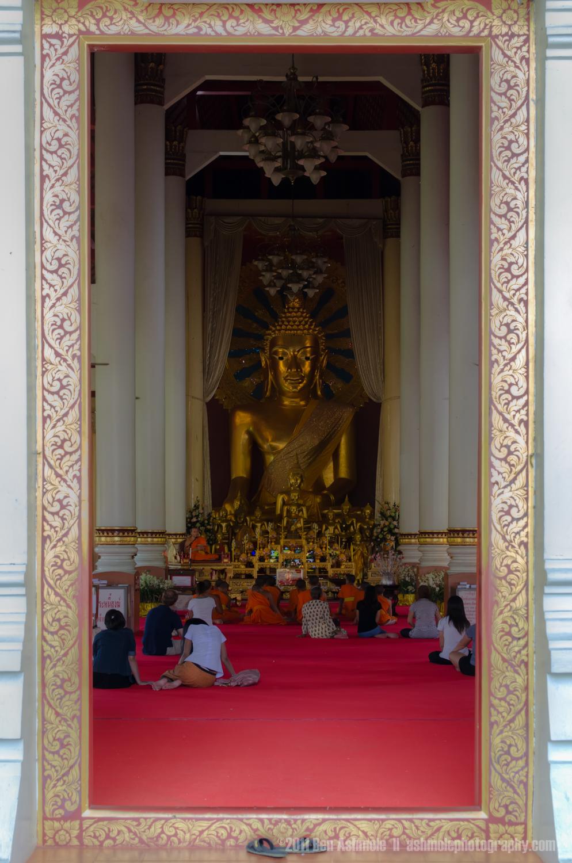 Buddhist Worship, Chiang Mai, Thailand, Ben Ashmole