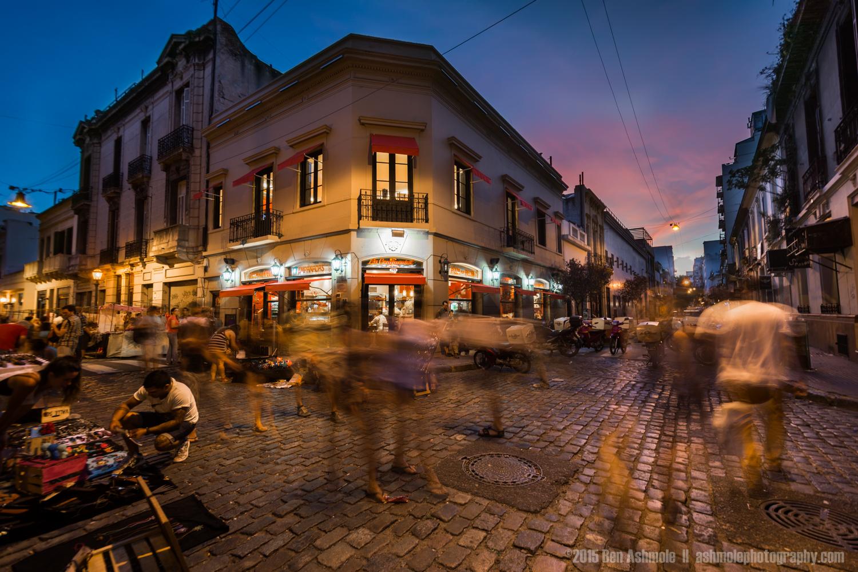 San Telmo Streets, Buenos Aires, Argentina