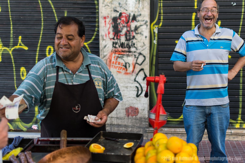 Happy Street Merchants, Buenos Aires, Argentina