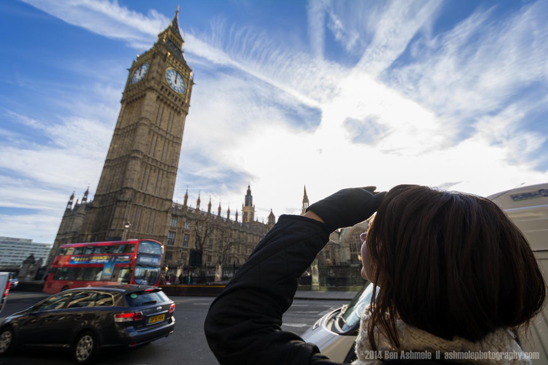 Looking Up At Big Ben 3, London, UK
