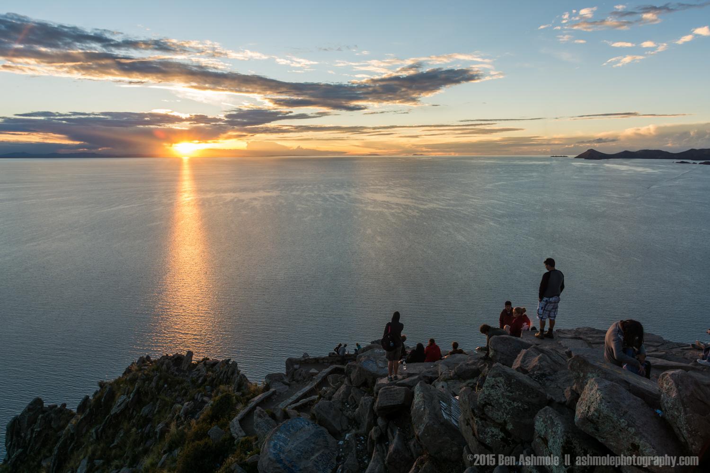 Sunset Over Lake Titicaca, Copacabana, Bolivia