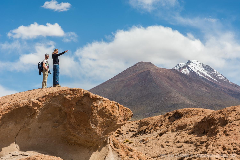 Surveying The Landscape, Volcán Ollagüe, Bolvian Highlands