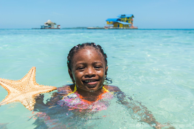 Swimming Girl, Rincon Del Mar, Colombia