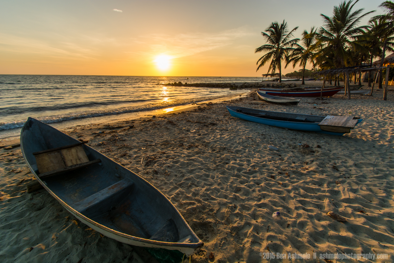 Boat Sunset, Rincon Del Mar, Colombia