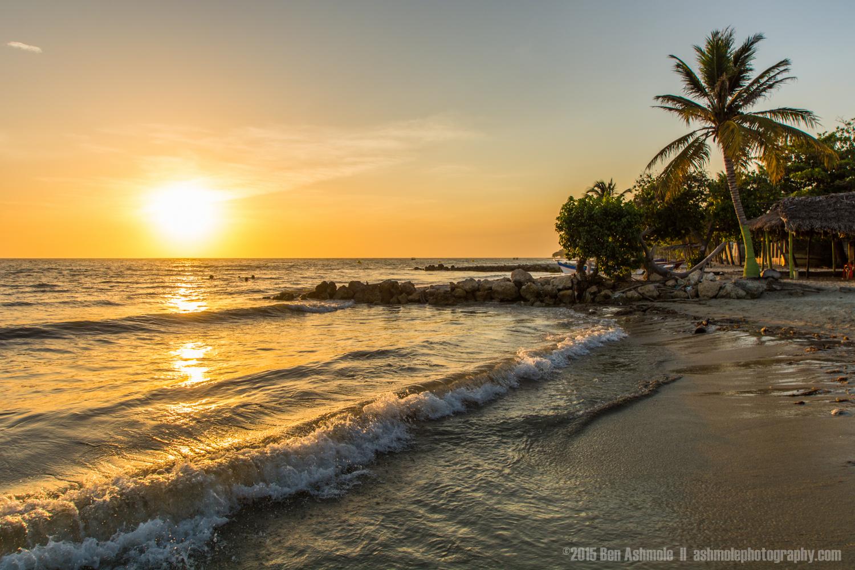 Beach Sunset, Rincon Del Mar, Colombia