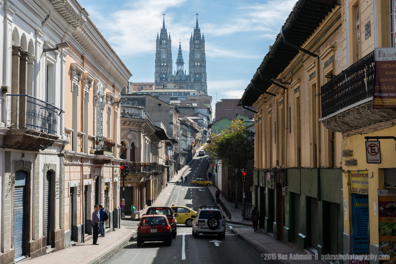 Quito Street 2, Ecuador