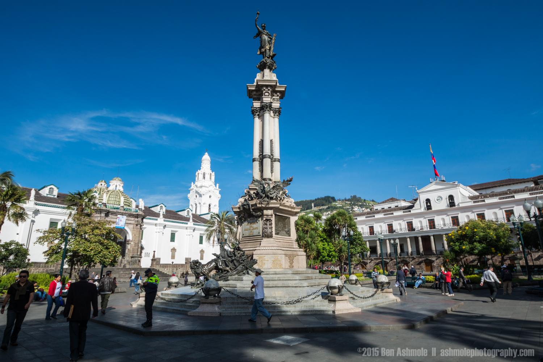 Plaza Grande, Quito, Ecuador