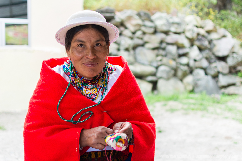 Quechuan Woman, Alausi, Ecuador