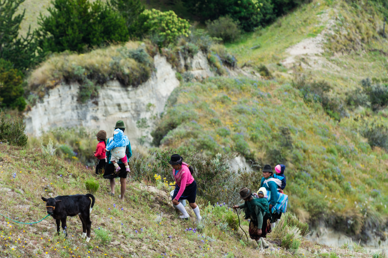 Local Shepherds, Quilotoa Loop, Ecuador