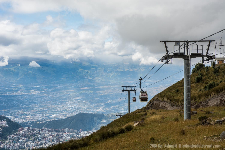 The Teleferico, Quito, Ecuador