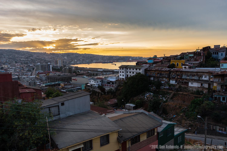 Valparaiso Sunset, Chile