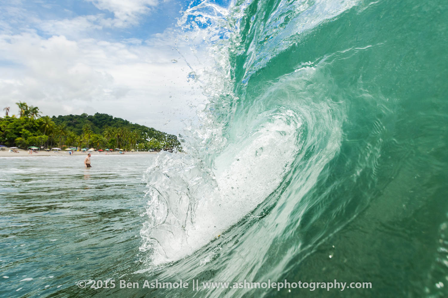 Turqoise Wave, Manuel Antonio National Park, Costa Rica