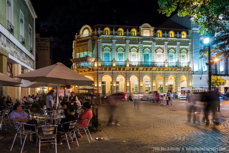 Main Square At Night, Salta, Argentina