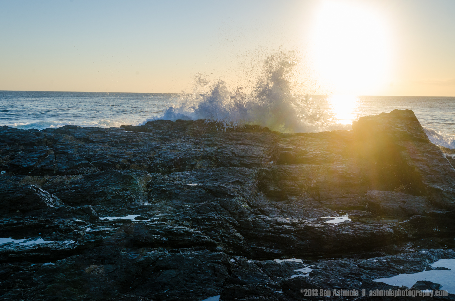 The Wave And The Sunflare, Currumbin, Queensland, Australia