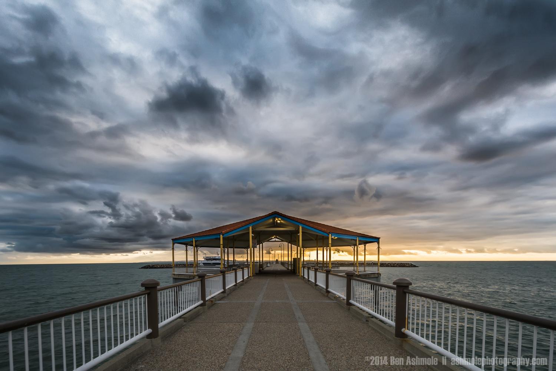 Jetty In A Storm, Redcliffe, Brisbane, QLD, Australia