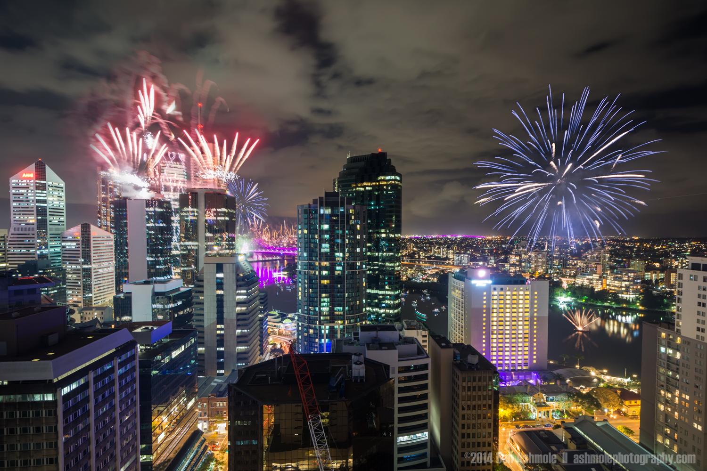 Riverfire 2014-2, Brisbane, Queensland, Australia