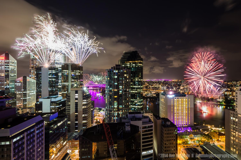 Riverfire 2014, Brisbane, Queensland, Australia