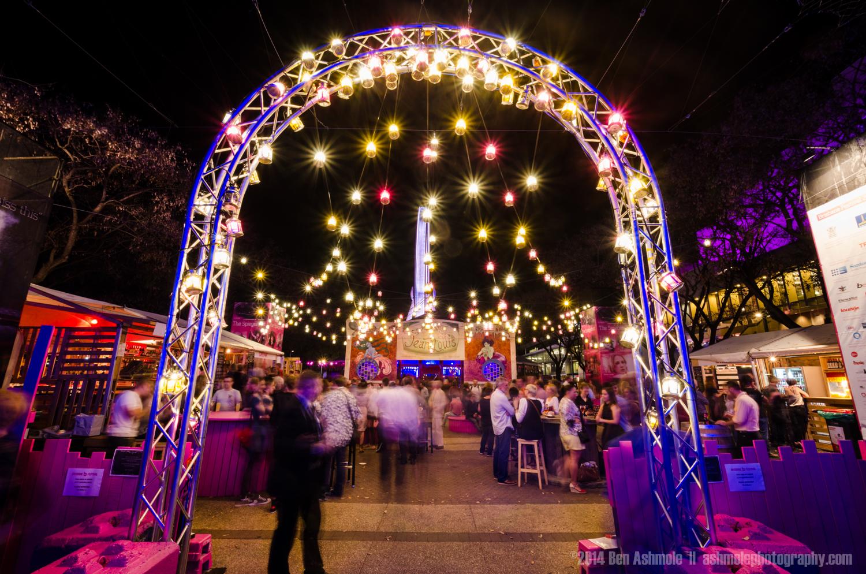 Bar Of Lights, Brisbane Festival, Australia