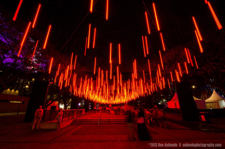 Brisbane Light Garden Red, Australia