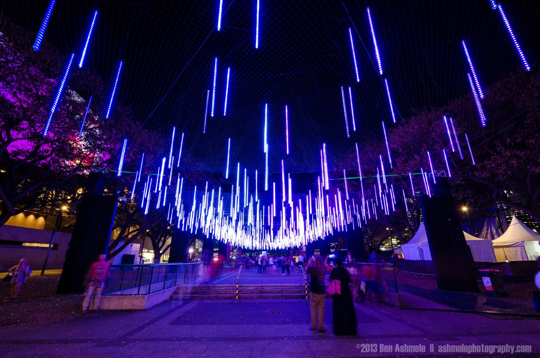 Brisbane Light Garden Blue, Australia