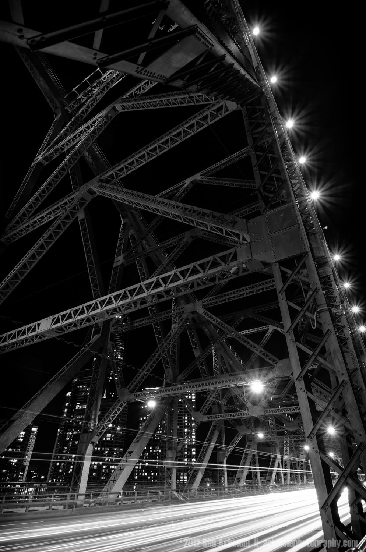 Story Bridge Traffic, Brisbane, Australia, Ben Ashmole