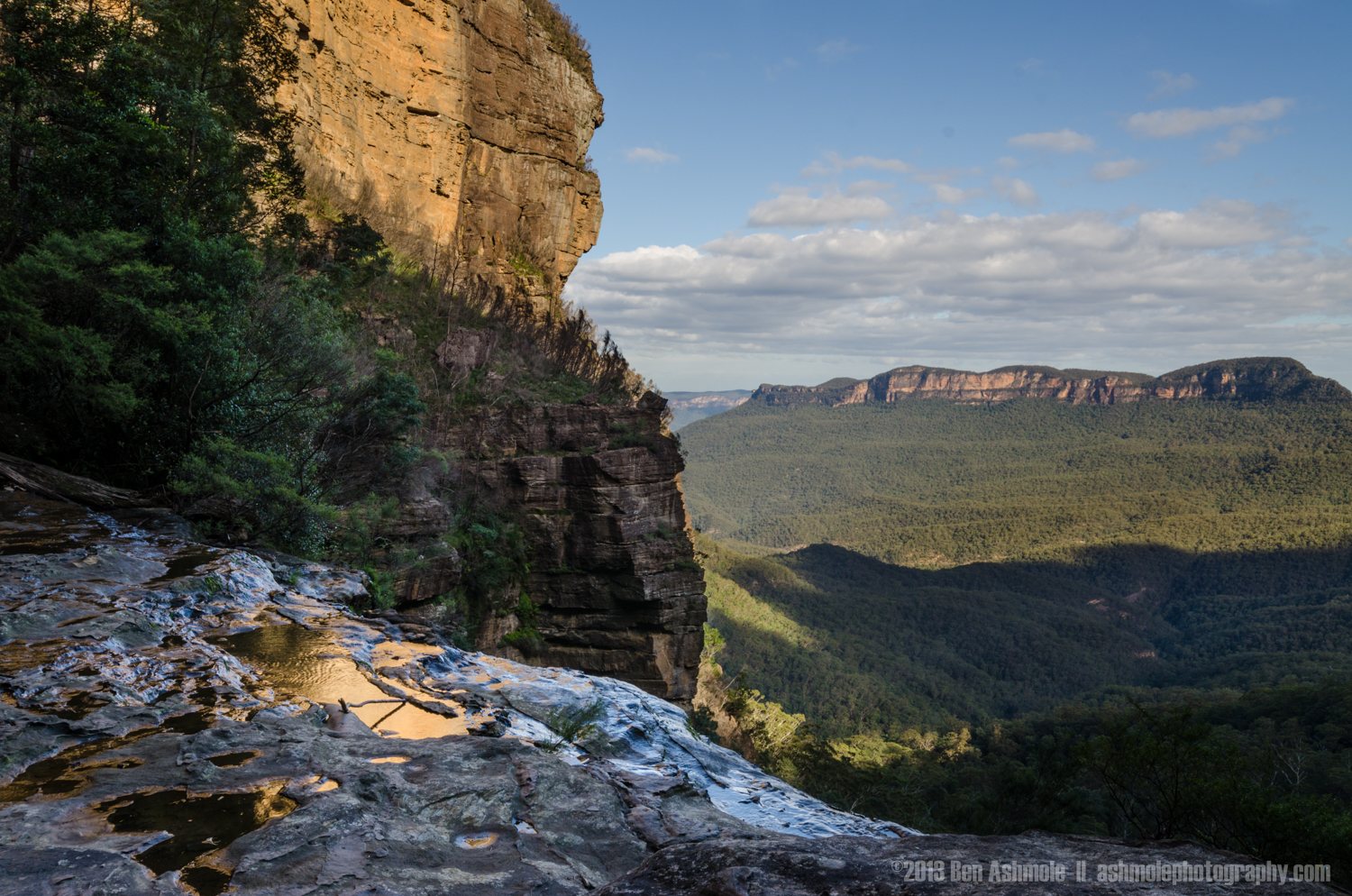 Slippery Edge, Blue Mountains, New South Wales, Australia