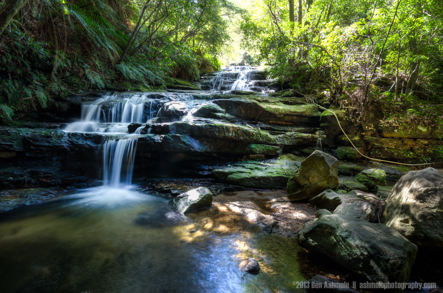 Forest Waterfall, Blue Mountains, NSW, Australia