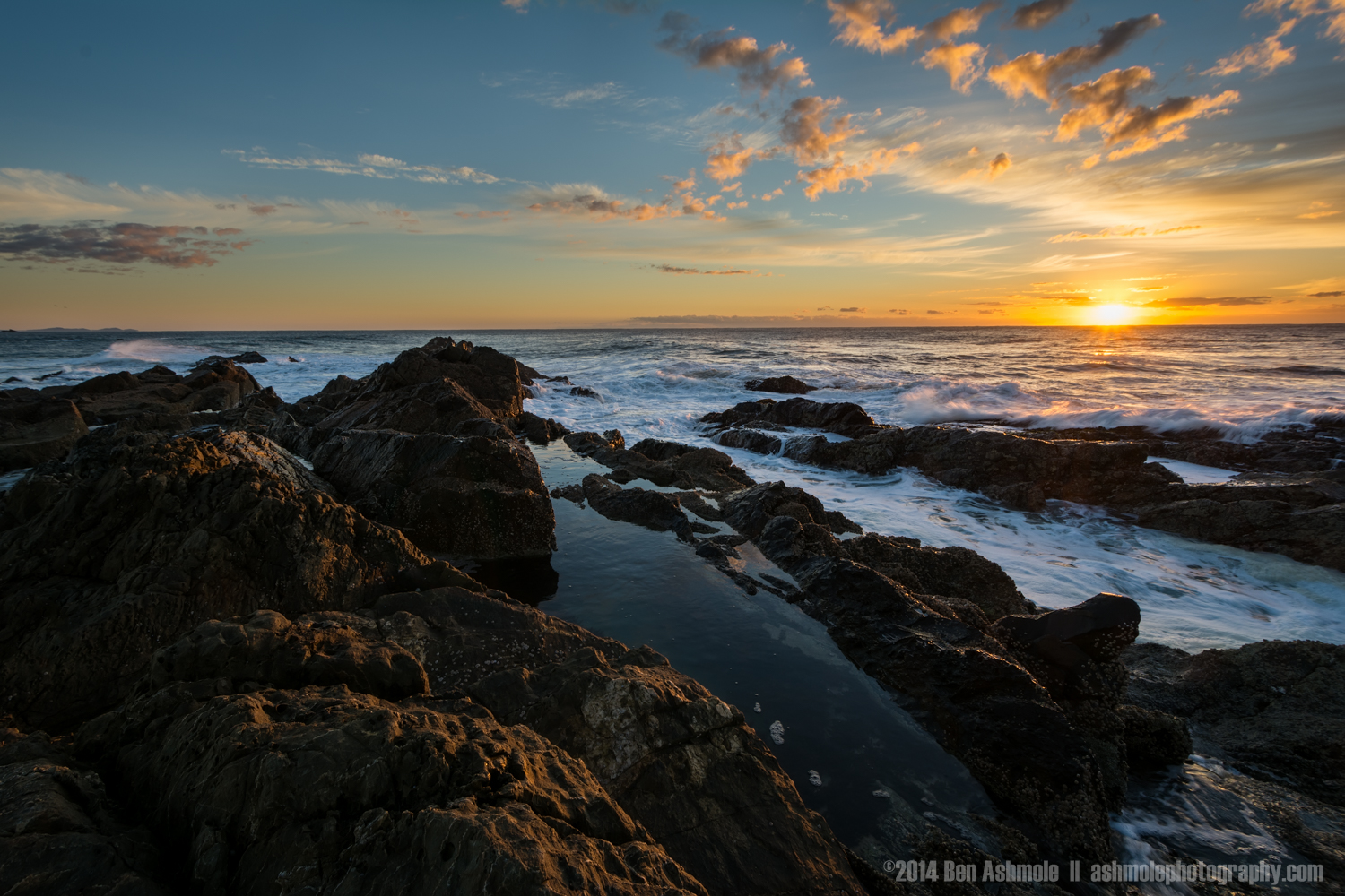 The Most Easterly Sunrise, Byron Bay, Australia