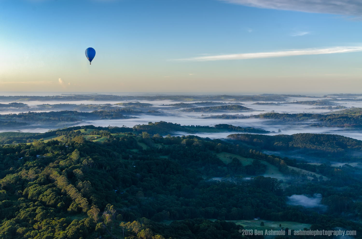 Sunrise Balloon Ride, Byron Bay, New South Wales, Australia