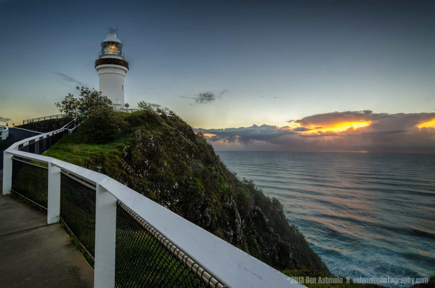 Lighthouse Sunrise, Byron Bay, New South Wales, Australia