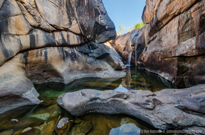Slot Canyon Details 2, Gunlom Falls, Kakadu National Park, NT, A