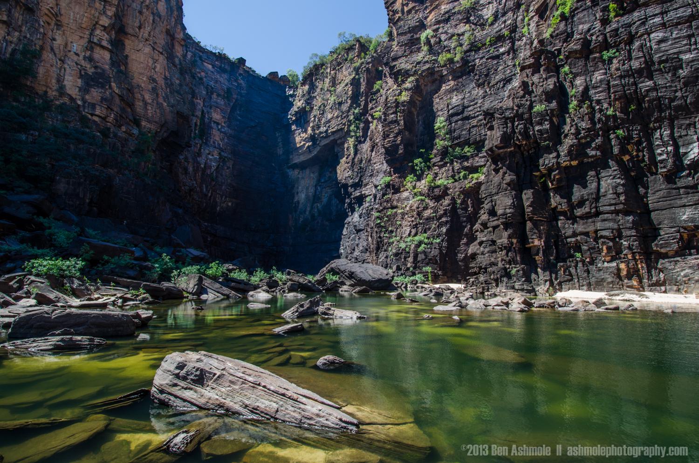 Jim Jim Falls Canyon, Kakadu National Park, NT, Australia