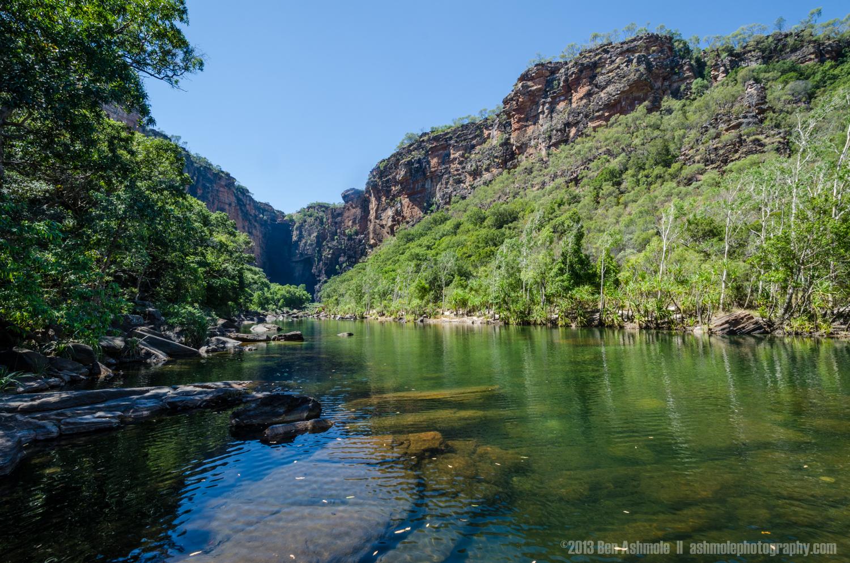 Approaching Jim Jim Falls, Kakadu National Park, NT, Australia