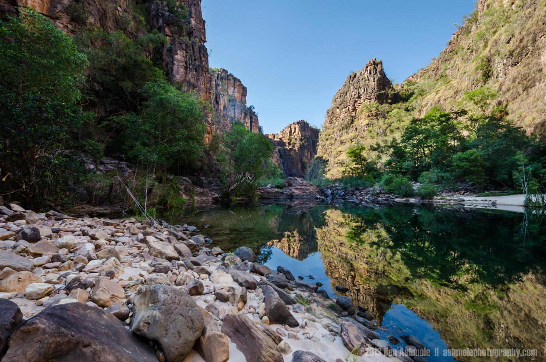 Outback Canyon, Twin Falls, Kakadu National Park, NT, Australia