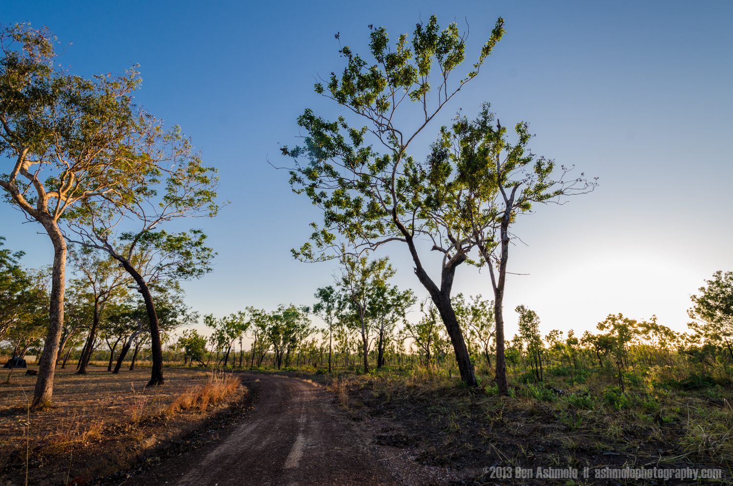 Dusty Outback Road, Litchfield National Park, NT, Australia