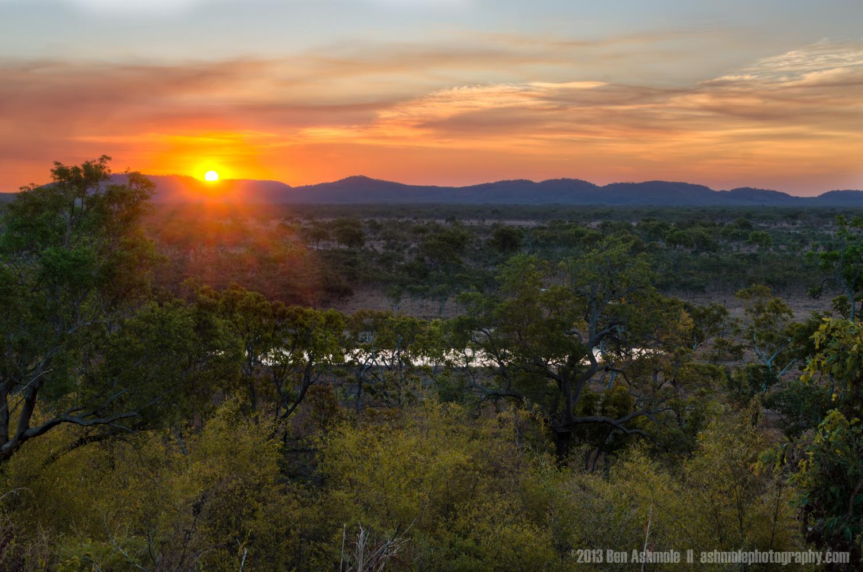 Sunset Over Mary River, NT, Australia