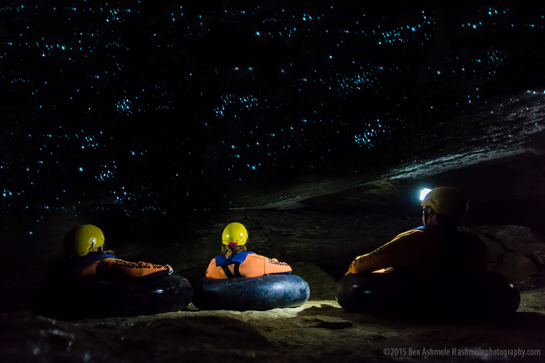 Watching Glow Worms, Charleston, New Zealand