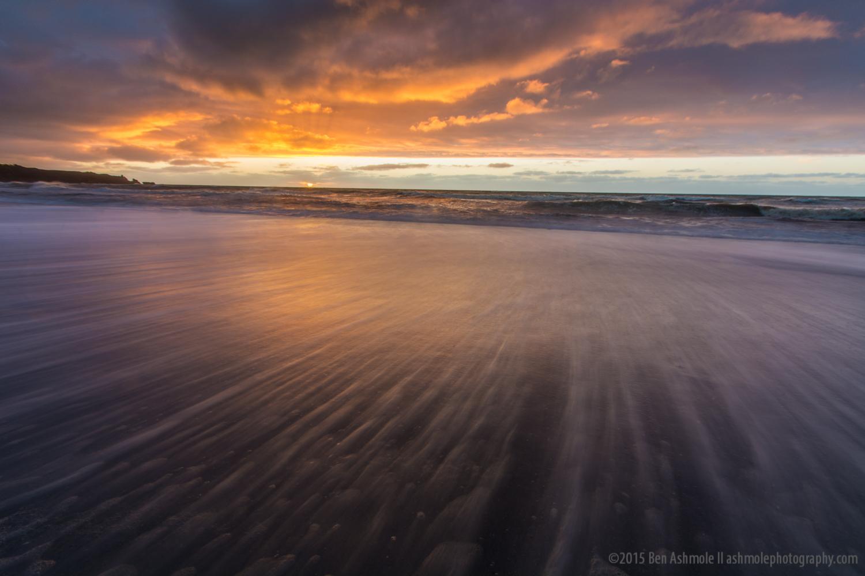 West Coast Sunset, Punakaiki, New Zealand