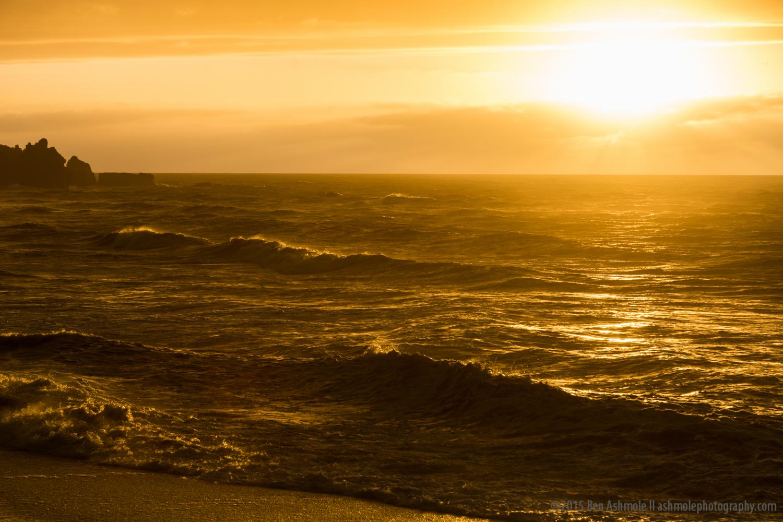 Punakaiki Beach Sunset 2, New Zealand